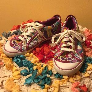 Coach Poppy Barrett Sneakers- size 5